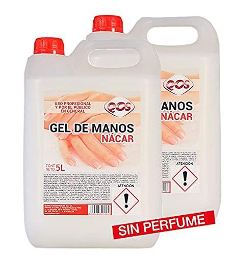 Climprofesional. Jabón de manos Sin Perfume dermo y aspecto nácar. Caja de 2 garrafas de 5 litros