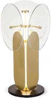 Lampe de Table Postmoderne créatif Salon Lampe de Table en Verre étude Chambre Lampe de Table de Chevet 33CM * 33CM * 57C ...