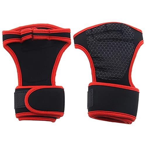 1 par de guantes de fitness para deporte, musculación, gimnasia, ascensores Olympiques y Dynamofilia