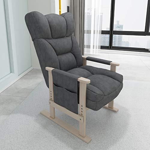 GJQ Silla de Ordenador, Inicio Recostarse Silla Perezosa del sofá, Moderno Simple Transpirable Cint