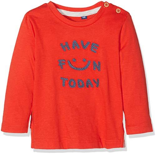 TOM TAILOR T- Shirts 1/1, Rouge (Flame Scarlet|Red 2550), 18 Mois Bébé garçon