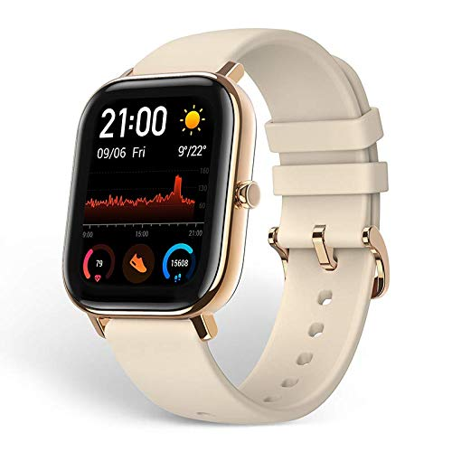 Amazfit GTS Smartwatch, Activity Tracker mit GPS, Gold