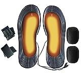 Wawogic Plantillas de Zapatos con Calefacción USB Pies Calcetín...