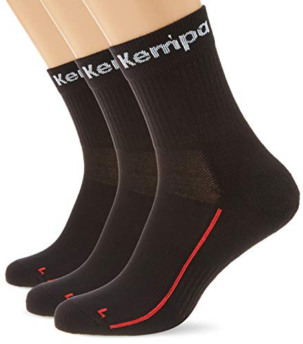 Kempa Team Classic Socks (3 Pairs) Chaussettes handball homme Noir/Blanc/Rouge 46-50