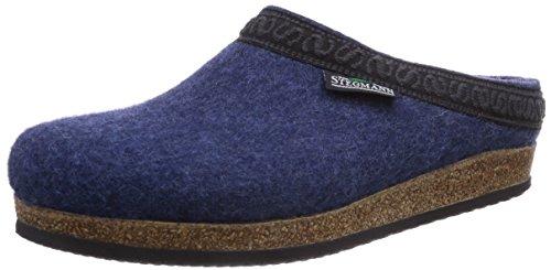 Stegmann Unisex-Erwachsene 108 Pantoffeln, Blau (Jeans 8813), 43 EU