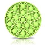 Bdwing Silicona Sensorial Fidget Juguete, Push Pop Bubble Sensory Toy, Autismo Necesidades Especiales Aliviador del...