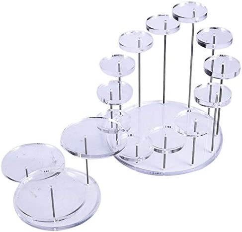 Cheap super special price IGUFSDIG 2Pcs Acrylic Product Display SEAL limited product Riser Stands Di Adjustable