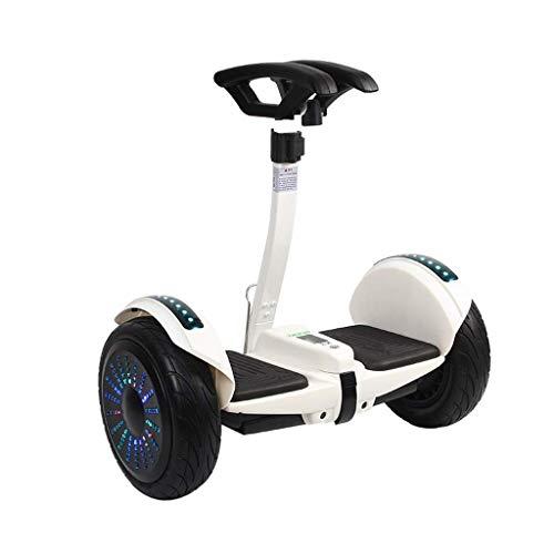 ZMHVOL 10 '' autobalanceo Hoverboard Todo Terreno con Bluetooth Rueda eléctrico Balance...