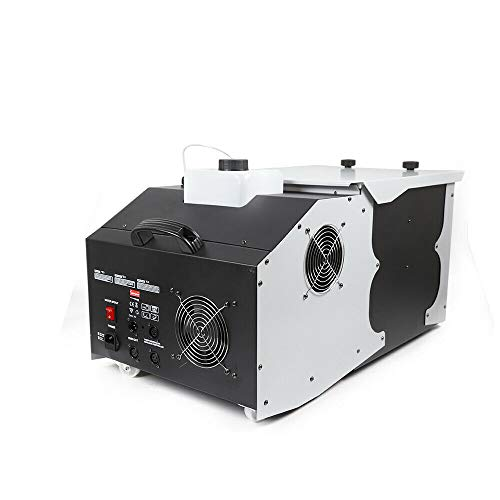DONNGYZ Dry Ice Machine Low Lying Fog Smoke Maker Cloud Effect DMX512 Professional Commercial Suitable for Stage Concert Wedding Party Show w/Remote Controller 3000W(US Stock)