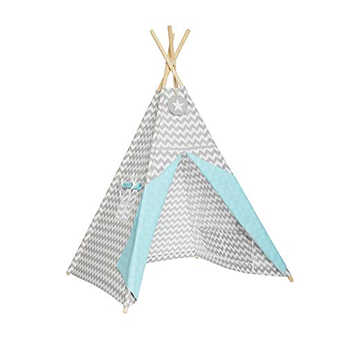 Fun with Mum TEE-TEN-MAG-TUR Tipi tent - Magic Turquoise