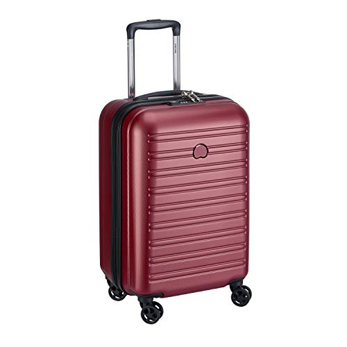 Delsey Paris SEGUR 2.0 Koffer, 55 cm, 42.9 liters, Rot (red)