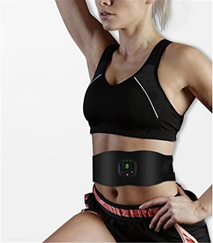 Fett & Cellulite brennender Ems Gürtel, Abs Trainer Muskelstimulator Gewichtsverlust, Bauchstraffungsgürtel mit LCD-Display USB Wiederaufladbarer Ems Taillentrimmer,...