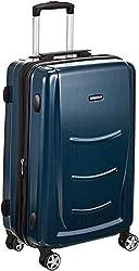 AmazonBasics 20 inch 55 cm Hardshell Cabin Size Suitcase, Navy Blue,AmazonBasics,N991