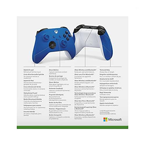 Xbox Wireless Controller Shock Blue - 7