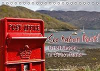 Sie haben Post - Briefkaesten in Schottland (Tischkalender 2022 DIN A5 quer): Impressionen mit Kultstatus in schottischer Landschaft (Monatskalender, 14 Seiten )