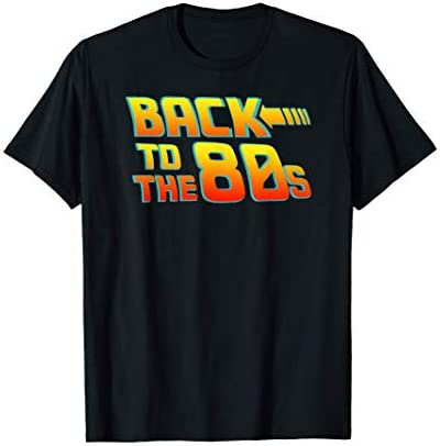 Back To The 80s Costume Fancy Dress Party Idea Halloween T Shirt product image