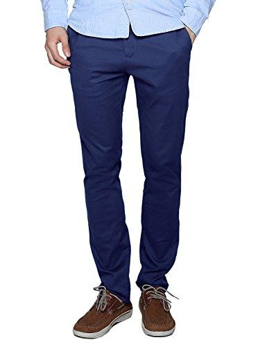 Match Men's Slim Fit Casual Pants (30, 8083 Blue)