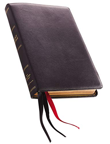 Compare Textbook Prices for NKJV, Thinline Reference Bible, Large Print, Premium Goatskin Leather, Black, Premier Collection, Comfort Print: Holy Bible, New King James Version Large type / Large print Edition ISBN 9780785220886 by Thomas Nelson