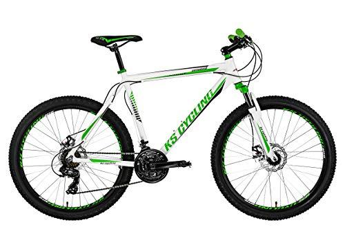 KS Cycling Mountainbike Hardtail 26'' Compound weiß-grün RH 53 cm