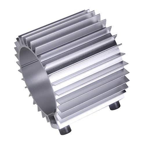Disipador de Calor de Filtro de Aceite de Motor para Coche Autos - Plata