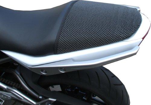 Cubierta TRIBOSEAT para Asiento Antideslizante Accesorio Personalizado Negro Compatible con Kawasaki ER6F (2005-2011)