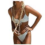 Charmo - Conjunto de bikini de dos piezas para mujer