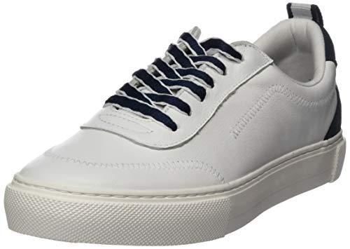 Marc O'Polo Damen 00215823503100 Sneaker, Weiß (White Navy 117), 39 EU