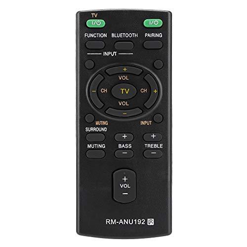 Afstandsbediening, vervangende RM-ANU192 afstandsbediening, voor Sony Sound Bar SACT60BT HTCT60BT SSWCT60, duurzaam