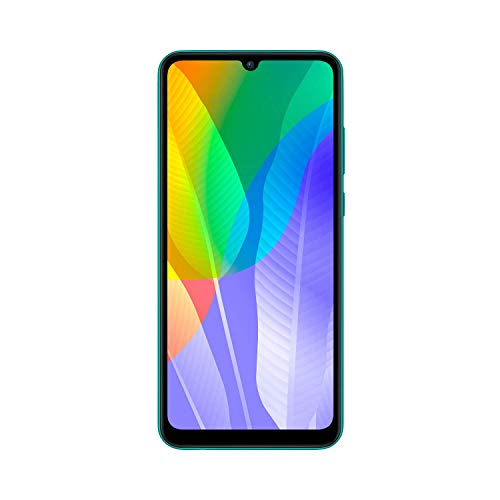 HUAWEI Y6P Dual SIM Smartphone (16 cm - 6.3 Zoll, 64 GB interner Speicher, 3 GB RAM, Android 10 AOSP ohne Google Play Store, EMUI 10.1.) Emerald Green