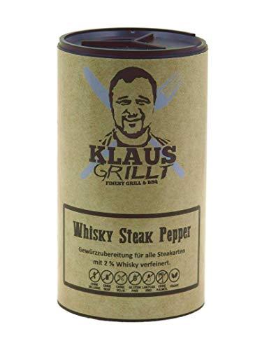 Klaus grillt, Whisky Steak Pepper, 100 g Streuer