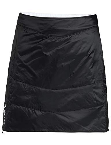 VAUDE Damen Women\'s Sesvenna Reversible Skirt Kleid-Rock, Black/White, 40