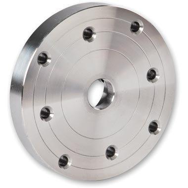 Planscheibe Ø 100mm für Drechsler, Aufnahme M33x3,5mm, Drechsler drechseln, Woodturner Woodturning