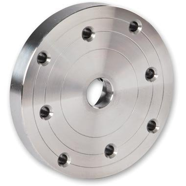 Axminster - Plato de sujeción (diámetro de 100 mm, para torneado, M33 x 3,5 mm)