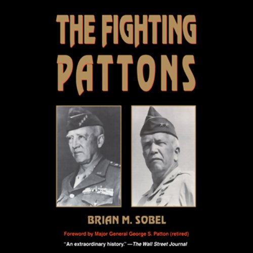 The Fighting Pattons audiobook cover art