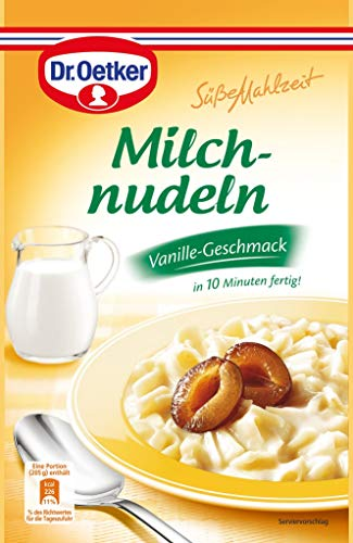 Dr.Oetker - Süße Mahlzeit - Milchnudeln - Vanille - 116g