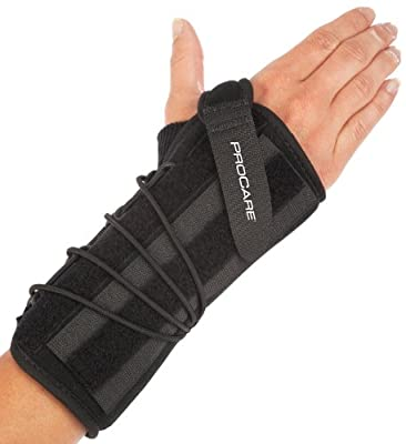 ProCare Quick-Fit II Wrist Support Brace, Left Hand, X-Large