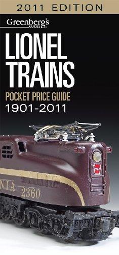 Lionel Trains Pocket Price Guide 1901-2011 (Greenberg's Pocket Price Guide Lionel Trains)
