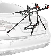 Allen Sports Deluxe 2-Bike Trunk Mount Rack, Model 102DN-R , Black