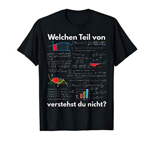Mathematik Algebra Welchen Teil von Mathe verstehst du nicht T-Shirt