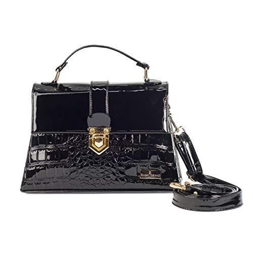 bolsas de charol negras fabricante AngeLozano