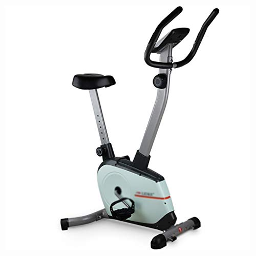 Trainingsapparaten Silent overdekte fietsenstalling magnetische controle sportfiets huis sportschool indoor trainer, dragende 120KG (Color : Gray, Size : 85 * 54 * 122cm)