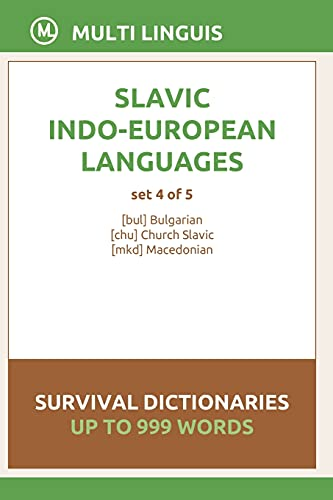 Compare Textbook Prices for Slavic Languages Survival Dictionaries Set 4 of 5  ISBN 9798748648929 by Linguis, Multi