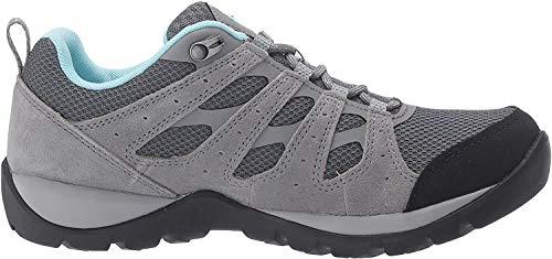 Columbia Women's Redmond V2 Hiking Shoe, Graphite, Blue Oasis, 8.5 Regular US