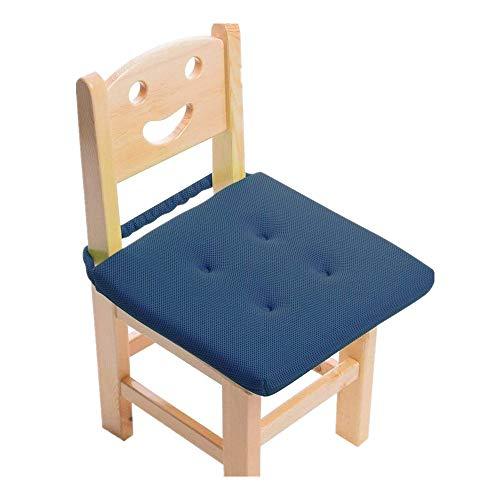 BaibuHome子ども座布団椅子用通気性ベビーチェアークッション子供食事クッション30cm学習丸洗えるスクールゴム付き座布団学校クッションのみ