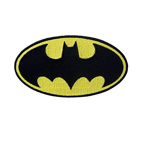 CasStar Aufnaeher Aufbuegler Patches Applikation Buegelbild Batman Dark Knight DC Comics Movie Classic Bat