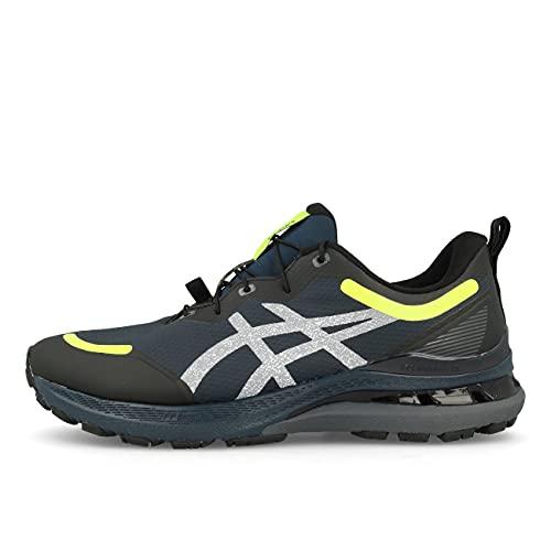 ASICS Gel-Kayano 28 AWL, Zapatillas para Correr Hombre, French Blue Safety Yellow, 46.5 EU