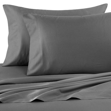 3pc Egyptian Duvet Cover Set 1500 Thread Count Queen Size Grey