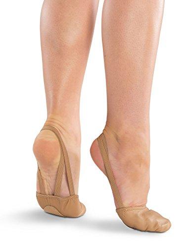 Danshuz Freedom Leather Half Sole Dance Shoe (Light TAN, X-Large) - 364