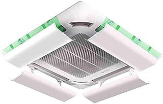 Air Conditioner Deflector for Plafond Air Conditioning lichtgewicht kunststof hoek verstelbaar Eenvoudige installatie Voor...