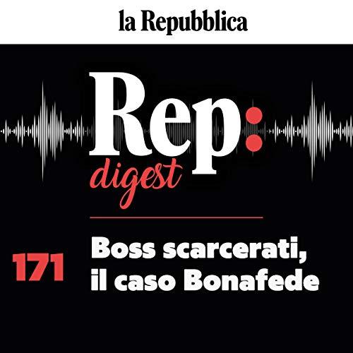 Couverture de Boss scarcerati, il caso Bonafede